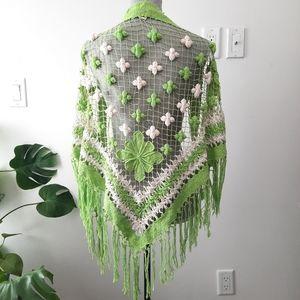 LUCKY BRAND Crochet Wrap Shawl